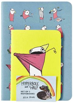 Hyperbole and a Half Notebooks