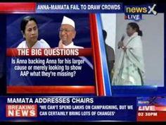 Mamata Banerjee addresses a rally at Ramlila Maidan