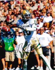 Robert Griffin III signed autographed 8 x 10 photo Baylor