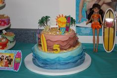 Teen Beach Party Cake