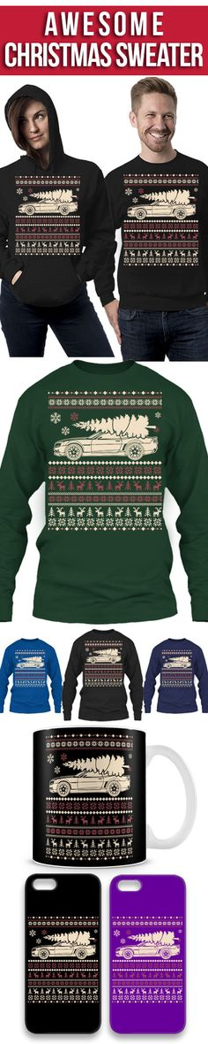 Chevrolet Camaro Ugly Christmas Sweater! Click The Image To Buy It Now or Tag Someone You Want To Buy This For. #chevroletcamaro