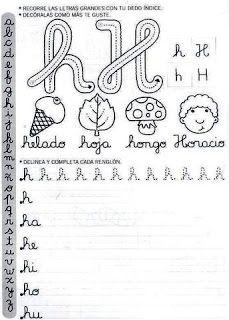 Actividades Escolares: caligrafía para el primer ciclo Learning Activities, Teaching Resources, Make Tutorial, Penmanship, Preschool, Classroom, Calligraphy, Album, Education
