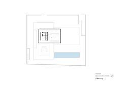 Image 33 of 34 from gallery of The P House / Studio MK27 - Marcio Kogan + Lair Reis. Second Floor Plan
