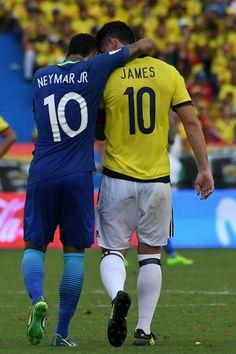 Neymar × James