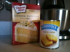 Lemon cake! So moist and easy to make! Mix a lemon cake mix with a can of lemon pudding and 4 eggs. That's it! The frosting is fabulous too. Hand down my kids favorite cake. Made it yesterday for my daughters birthday!