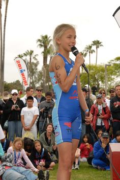 Ironkids provides the best youth triathlon series for kids around the world! Winter is the Ambassador for IronKids and encourages kids to lead and active, positive and healthy lifestyle. She encourages kids to not only race for themselves but for a cause. Winter visits schools across America inspiring kids!