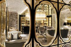 Lotte Hotel Moscow - Moscow, Russia : The Leading Hotels of the World Best Hotels In Moscow, Mirror Inspiration, Luxury Restaurant, Leading Hotels, French Restaurants, Interior Decorating, Interior Design, Design Interiors, Lounge Design