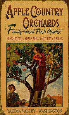Apple Country Sign by TimelessCountryDecor, via Flickr