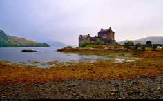 Medieval Scotish castle, near Isle of Skye, called Eilean Donan..it was a very cloudy sunset and the atmosphere was such intense....we were alone, one of the most magic moment of my scottish trip.....this scotland castle has become quite famous thanks to the movie Highlander CONTACT ME If you have questions about this image or my copyright terms: - My email: berkut83@hotmail.it (I usually reply in 4 hours) - My official website: www.moyanbrenn.com - My travel blog: www.earthincolors....