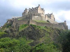 Edinburgh Castle, Edinburgh, Scotland - www.castlesandmanorhouses.com