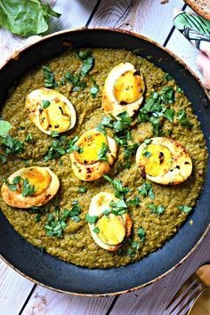 Kolhapuri Green Masala Egg Curry - Spicy and Fiery – Cookilicious Veg Cutlet Recipes, Cutlets Recipes, Veg Recipes, Curry Recipes, Vegetarian Recipes, Dinner Recipes, Cooking Recipes, Vegetarian Grilling, Healthy Grilling