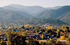 Ashland, Oregon home of the Shakespeare Festival.  Mom and I used to go to plays every year.