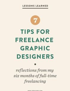 Freelance Graphic Design, Graphic Designers, Winning Lottery Numbers, Freelance Online, Lessons Learned, Design Process, Reflection, Learning, Tips