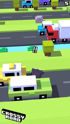 5 on #crossyroad. My top is 104.