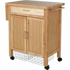 Buy Living Deluxe Rubberwood Kitchen Storage Trolley at Argos.co.uk - Your Online Shop for Kitchen trolleys.