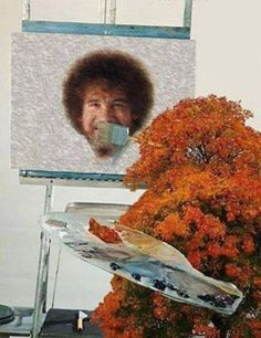 Bob Ross - The Joy of Painting :)