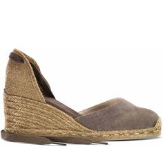 Wedge Espadrilles CARINA/6/washed canvas (classic washed) Castañer | Shoes