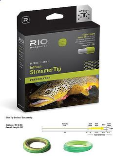 Fly Line Leaders and Tippets 23817: Rio Intouch Streamer Tip Short Powerful Head Fly Fishing Line -> BUY IT NOW ONLY: $70.55 on eBay!
