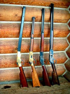 Henry and Winchester Weapons Guns, Guns And Ammo, Henry Rifles, Lever Action Rifles, Hunting Rifles, Cool Guns, Le Far West, Firearms, Shotguns
