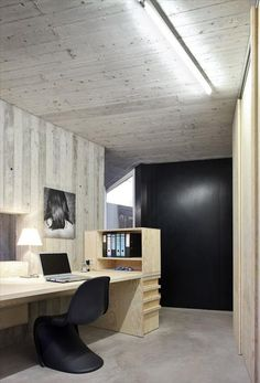 Office filing inspiration. Efficient. Lower shelf could be used for charging station.
