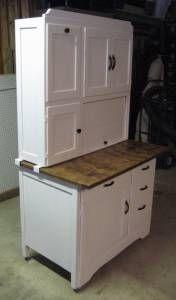 hoosier cabinet redo on pinterest