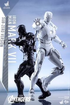 POINTNET.COM.HK - Hottoys 會場限定版 The Avengers - 1/6th scale Mark VII (Sub-Zero Version)