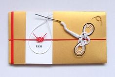 """To arrange such Japanese culture specific a technique called """"wrap feelings"""" to contemporary, as hospitality products, as an art, is the """"TIER"""" <Tire>'re spun off Mizuhiki. Japanese New Year, Japanese Paper, Paper Packaging, Packaging Design, Japan Crafts, Name Card Design, Japan Design, Japanese Patterns, Letter Set"""