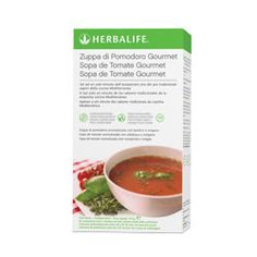 La Zuppa di Pomodoro: è uno snack ideale come aperitivo o antipasto, con 104 calorie a porzione.Sapore mediterraneo. Da gustare calda o fredda.Mescolare 2 ½ cucchiai (32g) con 200 ml di acqua calda. Quando si utilizza il cucchiaio multiuso Herbalife mescolare 2 cucchiai e 2 cucchiaini rasi. Per info: http://www.goherbalife.com/elenadellavella/it-IT