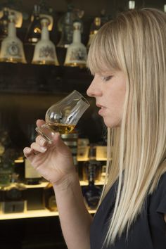 """""""The nose is almost more important than your mouth when tasting,"""" says Trevisan-Hunter. """"There's actually a plate at the back of your nose called the olfactory epithelium that is involved in producing taste as well as smell, so you can tell a lot about the various flavours just from breathing in the whisky vapour."""""""