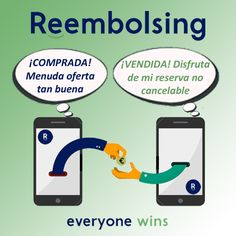¡Con Reembolsing todos ganan! Descubre todo lo que podemos ofrecerte. Economía colaborativa.