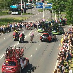 De Giro in Arnhem! Eindelijk begonnen.