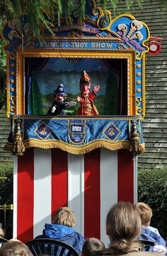Punch and Judy Show - Matlock, Derbyshire, England