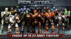 Real Steel HD v1.25.2 Android Hile MOD APK + DATA indir