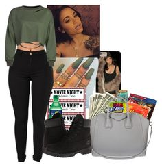 """Lets have some fun"" by vixens ❤ liked on Polyvore featuring Givenchy and Timberland"