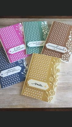 Ornate Border Dies by Stampin' Up! Cards For Friends, Friend Cards, Thanks Card, Card Making Tutorials, Stamping Up Cards, Get Well Cards, Card Sketches, Color Card, Flower Cards