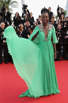 Lupita Nyong'o at the Cannes Film Festival