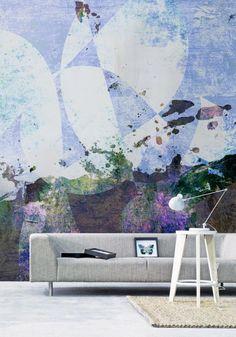 Modern Paint-like Wall Murals