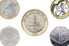 The 10 most valuable and rare 50p and £2 coins in circulation - and how much they're worth Rare British Coins, Rare Coins, Rare 50p, 50p Coin, Valuable Coins, Old Technology, Coin Design, Queen Photos, Coin Worth