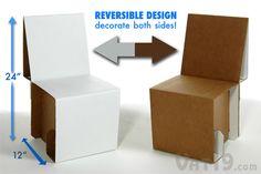 Elia Mini Cardboard Chair Kit: Assemble your very own cardboard chair