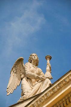 Angel at San Rocco church, Rome