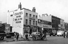 "London Borough of Newham Heritage Service"" Liverpool Street, London Street, Vintage London, Old London, Stratford London, Pie And Mash, Newham, London History, British History"