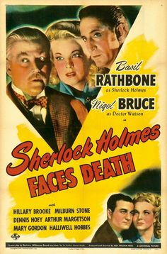 Return to Main Page for Sherlock Holmes Faces Death Posters