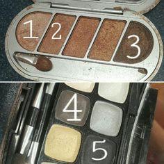 Prom makeup - Shadows :)