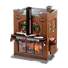 Department 56 - Snow Village - #Harley-Davidson® Dealership - Building
