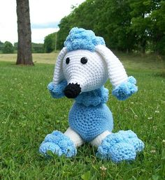 RESERVED FOR KATHARINE  Poodle  Stuffed Animal  by meddywv on Etsy, $25.00