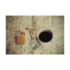 coffee & cigarettes ❤ liked on Polyvore