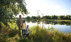 Fishing at Riverfron