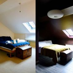 Banisters, balustrades and building regs - The alternative loft staircase Loft Staircase, Stairs, Farrow And Ball Paint, Blonde Wood, Making Space, Banisters, Bedroom Loft, Bedroom Flooring, Alternative