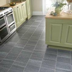 Slate Kitchen Floor Amtico Cumbrian Slate Kitchen