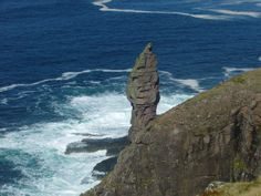 Old Man of Stoer, Sutherland, Scotland. A spectacular sea stack.